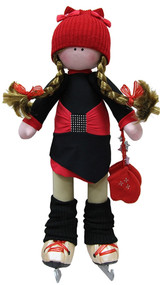 "cedress Doll-skater in ""Oriental-2"" outfit"