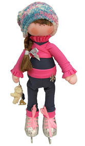 Icedress Doll-skater in pants outfit