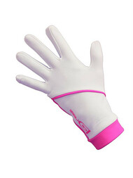 "Icedress - Thermal Figure Skating Gloves ""IceDress"" (White and Hot Pink)"