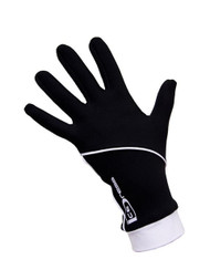 "Icedress - Thermal Figure Skating Gloves ""IceDress"" (Black and White)"