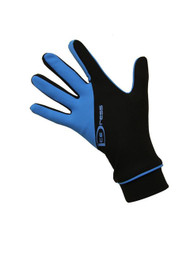 "Icedress - Two Color Thermal Figure Skating Gloves ""IceDress-Sport"" (Black and Blue)"
