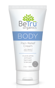 Be Trū Organics BODY Pain Relief Cream