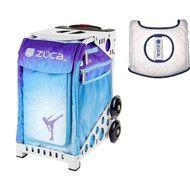 Zuca Sport Bag - Ice Dreamz  with Gift  Seat Cover (White Frame)