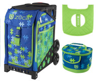 Zuca Sport Bag - PUZZLE + FREE Lunchbox and Seat Cover