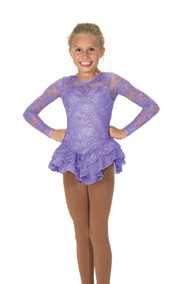 Jerry's Ice Skating  Dress 193- Love & Lace  (Crocus Purple)