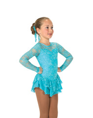 Jerry's Ice Skating  Dress 193 - Love & Lace  (Tiffany Blue)