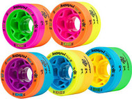 Reckless MORPH Quad Indoor Roller Derby Speed Skate Dual Durometer Wheels