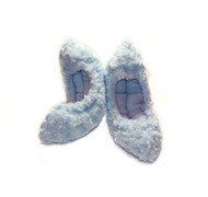 Crazy Fur Soakers - S16 - Solid Light Blue Fuzzy