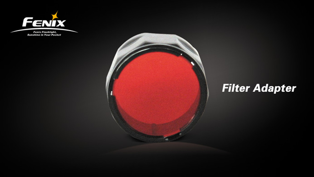 AD302-R - Filter Adapter (Red - TK)