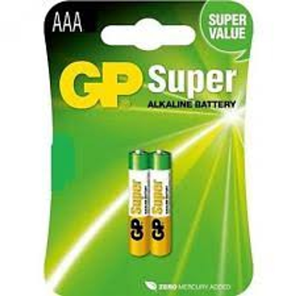 GP Super Alkaline AAA - GP24A-C2 (2 pack)