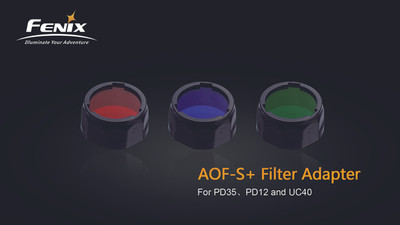 AOF-S+ Blue filter adapter for PD35, PD12 and UC40