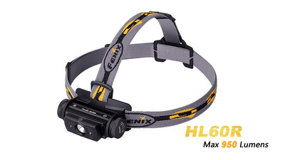 Fenix HL60R Rechargeable LED Headlamp - 950 Lumens