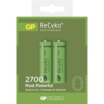 GP270AAHCE-2GBLA2   (GP Recyko+ - Low Discharge -  AA 2600mA 2pk)