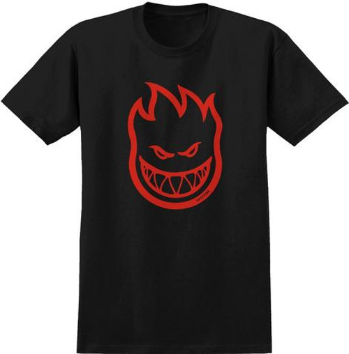 SPITFIRE YOUTH Spitfire Bighead Black/ Red Tee