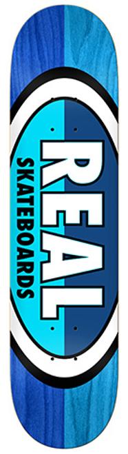 REAL TEAM 50-50 OVALS BLUE/LIGHT BLUE DECK 8.38