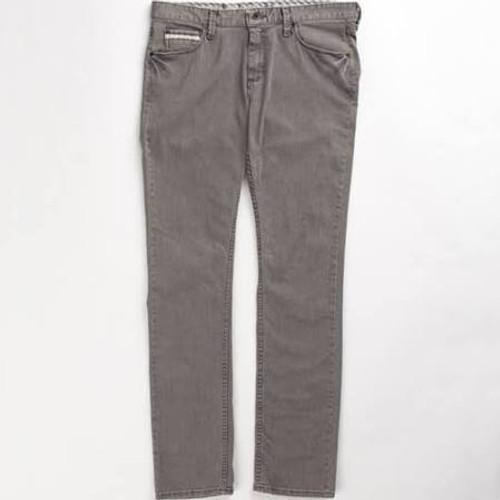 Vans Boys V76 Skinny Jeans (Gravel Grey)