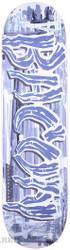 BACON SCRATCH FONT BLUE DECK 8.5