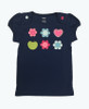 SOLD - Sparkly Navy Tee