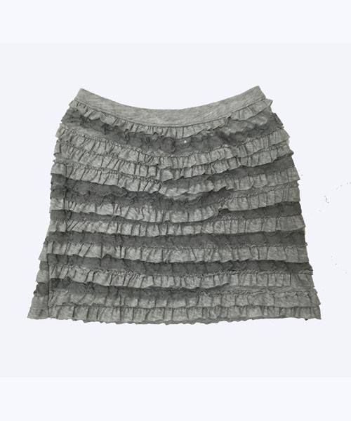 SOLD - Lace Ruffle Skirt