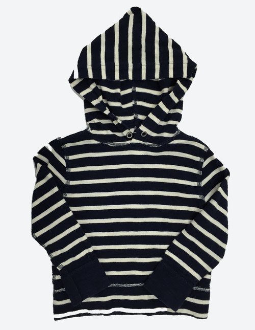 Striped Pullover Hoodie
