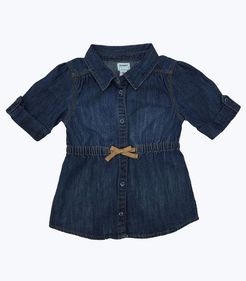 SOLD - Denim Dress