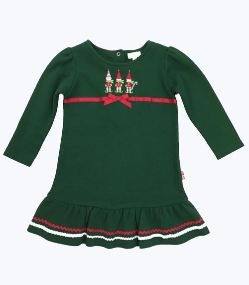 NWT Forest Green Elves Dress