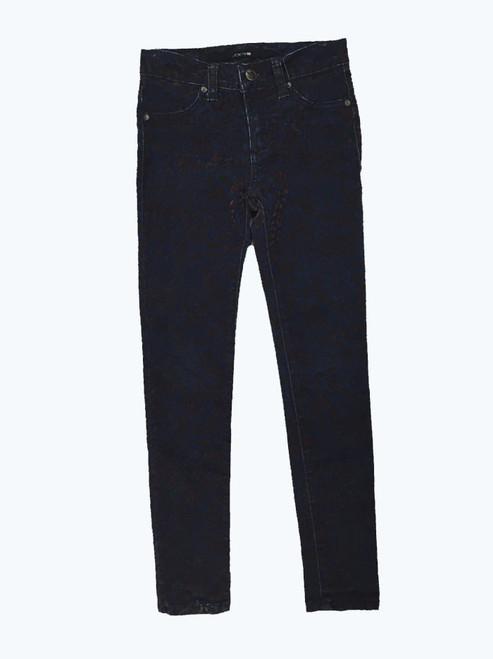 Velvet Print Denim Jeans