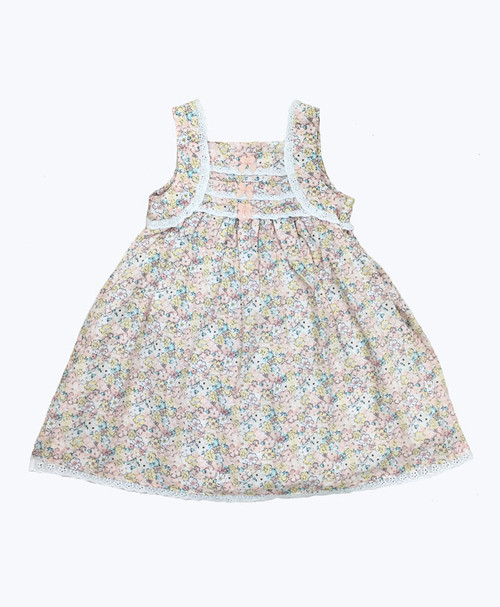 SOLD - Floral Sleeveless Dress