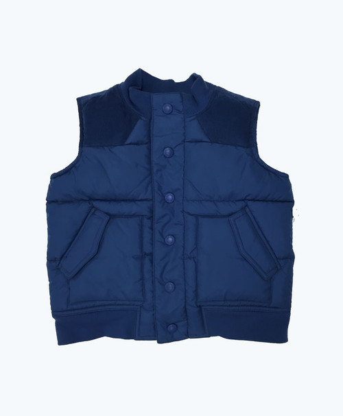 SOLD - Navy Vest