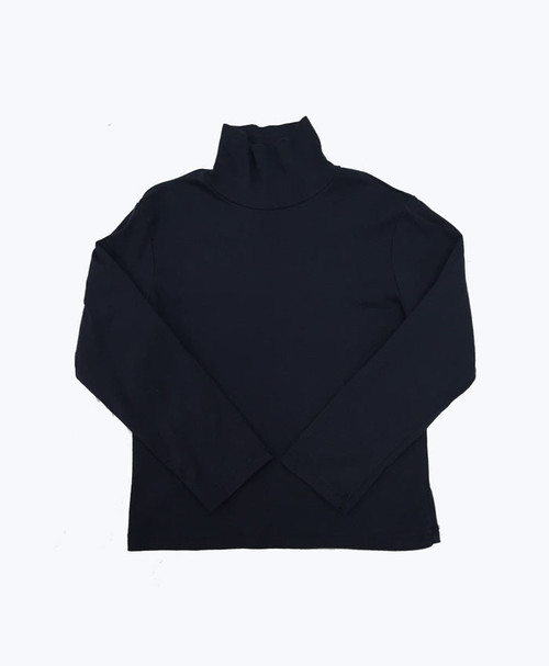 Navy Turtleneck Shirt