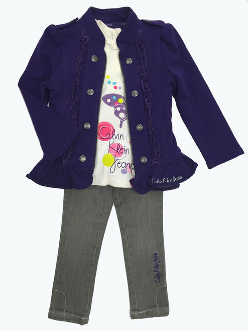 SOLD - Purple Jacket 3-PC Set