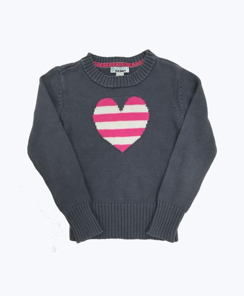Heart Crew Neck Sweater
