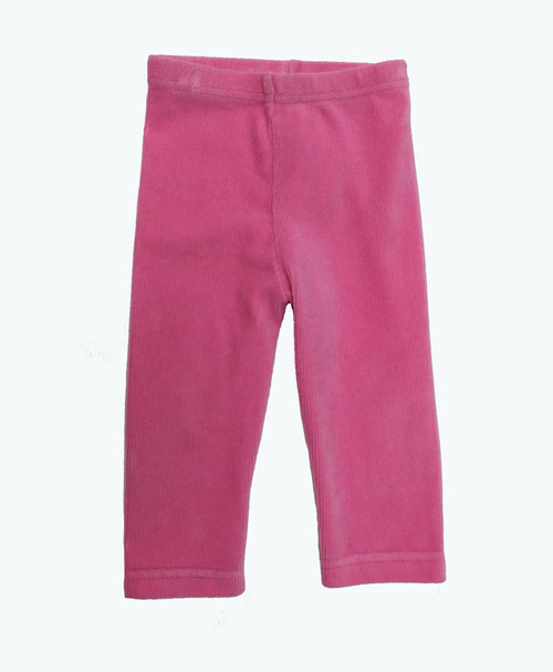 SOLD - Pink Corduroy Leggings