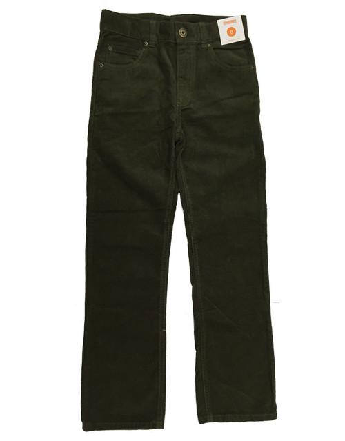 Olive Green Corduroy Pants