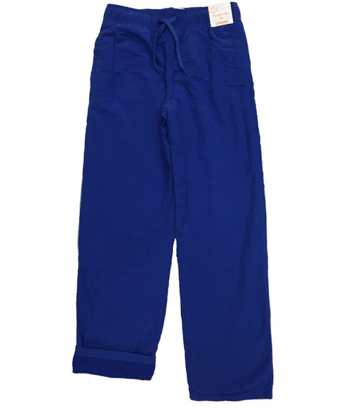 NWT Blue Jersey-Lined Active Pants