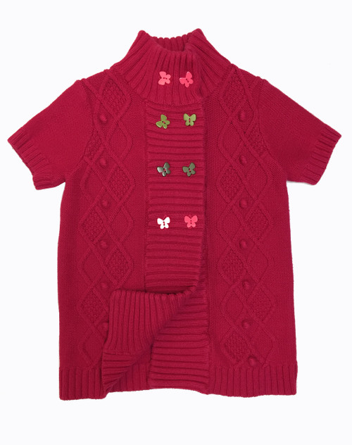 Red Butterfly Cardigan