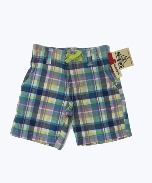 P/G Plaid Shorts