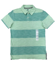 Big Striped Short Sleeve Polo