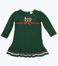 NWT Forest Green Elves Dress