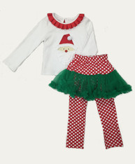 SOLD - NWT Santa Pettiskirt Set
