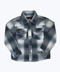 SOLD -Plaid Long Sleeve Button Down Shirt