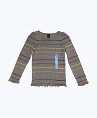 SOLD - Striped Thermal Shirt