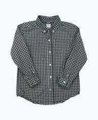 Long Sleeve Checkered Button Down