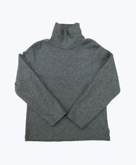 Gray Turtleneck Shirt