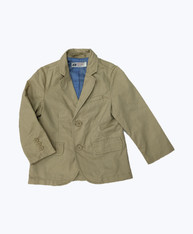 Sand Single-breasted Blazer