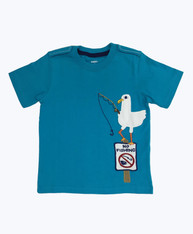 Appliqués Shirt - Fishing