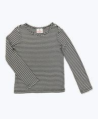 SOLD - Black Stripes Long Sleeve Tee