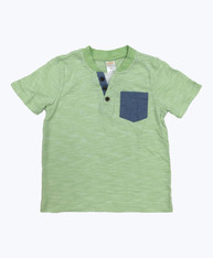 Green Sherbet Pocket Tee