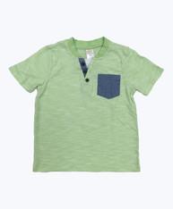 Green Sherbet Pocket Tee