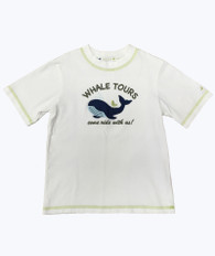 Whale Applique Tee Shirt